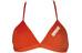 arena Solid Tie Back bikini rood